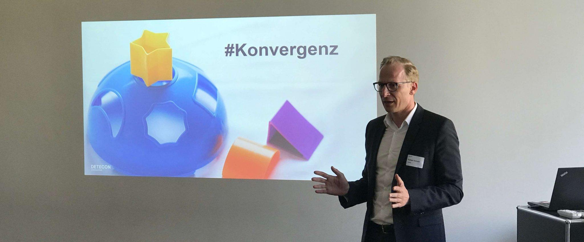 Keynote Speaker zu Digitalisierung der Energiewirtschaft